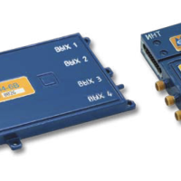Multichannel microwave amplifier modules, ultra-wideband amplifiers for phased array